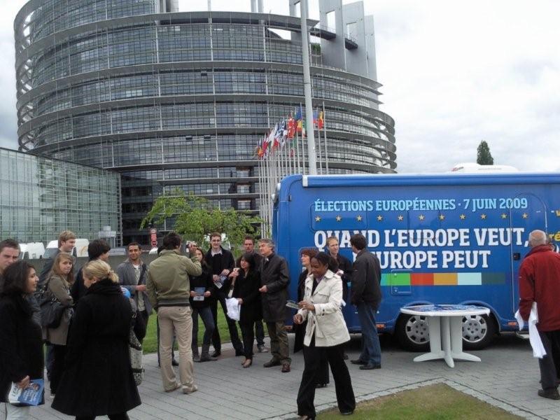 L'Eurobus fait étape à Strasbourg