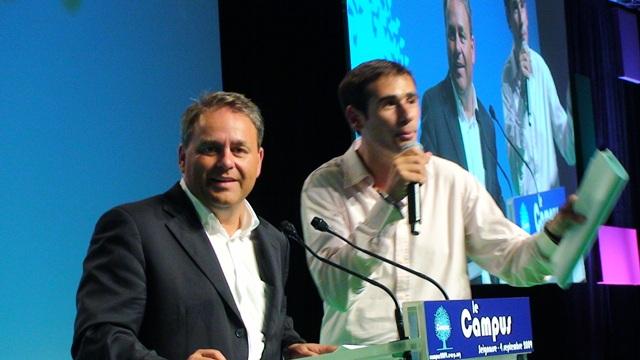CAMPUS DES JEUNES POPULAIRES, discours de clôture de Xavier BERTRAND