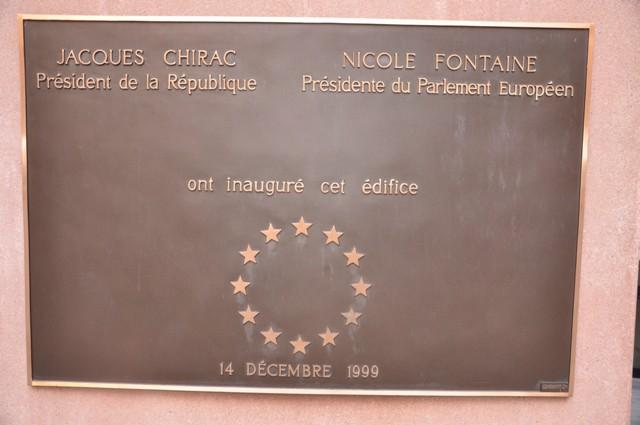 Visite du Parlement Européen avec Joseph DAUL – 26-11-09