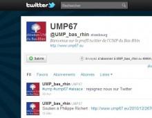 Twitter : un outil social pour défendre le bilan de l'UMP et ses initiatives en Alsace