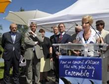 Bernadette Thiebaut, une Secrétaire départementale active à la tête de l'UMP 67