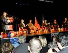 Un grand meeting à BISCHHEIM : Alain JUPPÉ parmi les siens