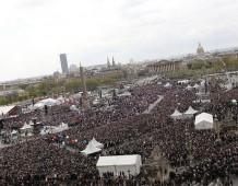 Train Bleu pour le Grand Rassemblement du mardi 1er Mai 2012 autour de Nicolas SARKOZY