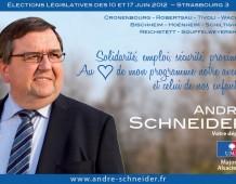 Entretien avec André Schneider : la défense de l'environnement au cœur de mes préoccupations