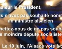 L'Alsace, grande oubliée du gouvernement Ayrault ?