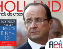Apero Actu de Fabienne KELLER N°1 : François HOLLANDE, 6 mois de crises