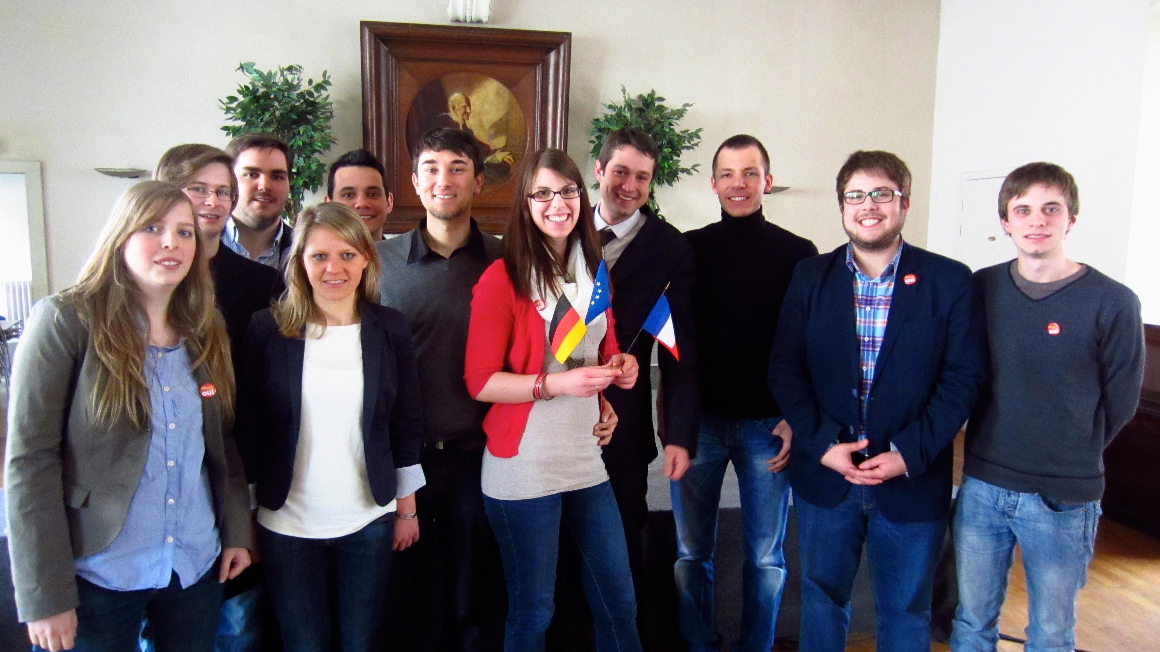 Junge Union & Jeunes UMP: Deutsch-Französische Freundschaft