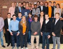 Les Jeunes UMP 67 à Karlsruhe pour faire campagne aux côtés des jeunes de la CDU !
