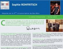 La Lettre trimestrielle de Sophie ROHFRITSCH – Février 2014
