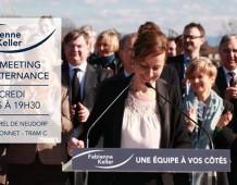 GRANDE RÉUNION PUBLIQUE POUR L'ALTERNANCE AVEC FABIENNE KELLER – MERCREDI 19 MARS À 19H30