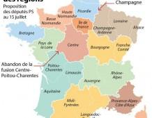 Le groupe socialiste à l'Assemblée Nationale redessine la carte des régions de France : réaction des élus de la Majorité alsacienne.
