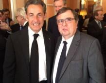 Nicolas SARKOZY évoque l'Alsace et la Réforme Territoriale avec André SCHNEIDER