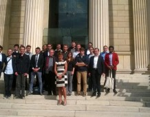 Les Jeunes UMP du Bas-Rhin en visite à Paris