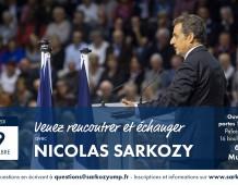 Grand meeting régional de Nicolas SARKOZY à MULHOUSE le 19-11-14 à 19H