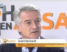 110 propositions pour lutter contre le terrorisme : interview d'André REICHARDT sur Alsace 20