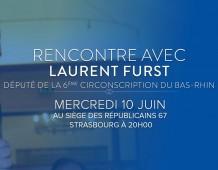 Rencontre avec Laurent FURST, Député du Bas-Rhin