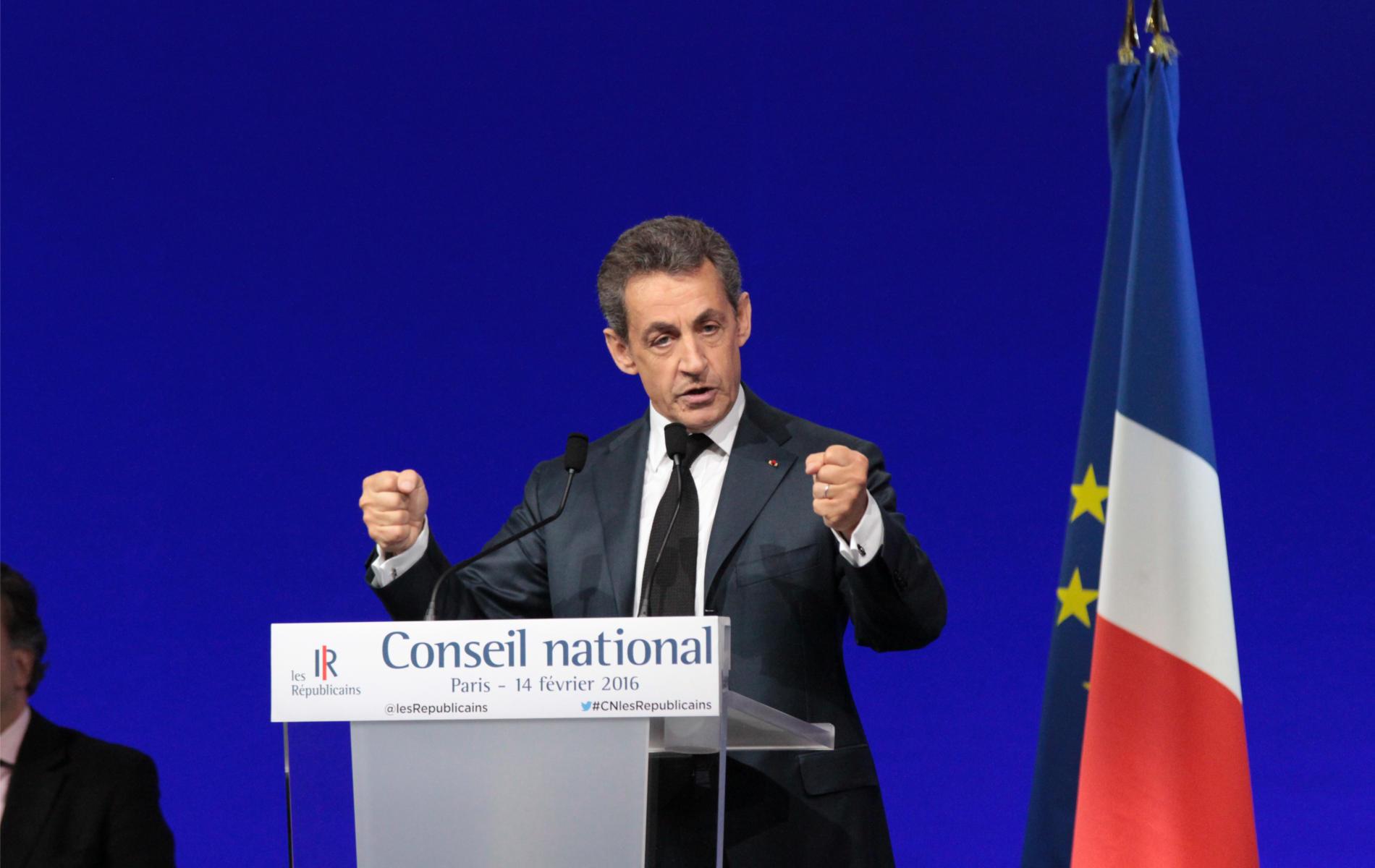Au Conseil National, Nicolas Sarkozy définit les 14 « points cardinaux » de la ligne politique des Républicains