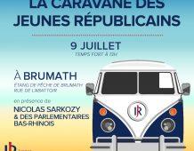 La Caravane d'été des Jeunes Républicains passe dans le Bas-Rhin